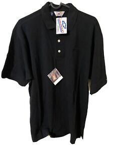Chevrolet Mens Cutter & Buck Black Polo Shirt SZ L/G GM Brand New W/ Tag