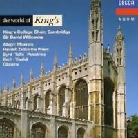 THE WORLD OF KING'SINGERS  CD NEW+