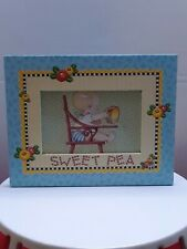 """Mary Engelbreit Picture Frame 3.25"""" x 5.25"""" """"Sweet Pea"""" Decor Punch Studio"""