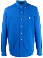 "Ralph Lauren - Men's Featherweight Mesh Shirt - Blue - Size Small (42"" Chest)"