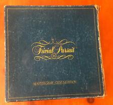 Vintage Trivial Pursuit Master Game Genus Edition Board Game 1981 (Horn, Abbot)