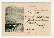 ARGENTINA: 1900 postcard to Germany (C47603)