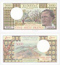 DJIBOUTI - 5000 Francs Banknote - Pick ref: 38d - UNC.