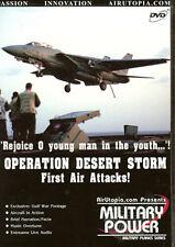Operation Desert Storm 1st Air Attacks USS JFK DVD