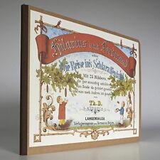 Märchenbuch Reise ins Schlaraffenland, Neudruck des historischen Originals