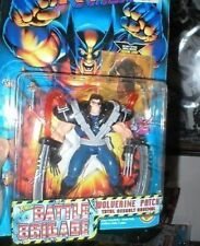 X MEN BATTLE BRIGADE WOLVERINE WITH ASSAULT ARSENAL MOC  FREE U.S. SHIP