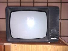 TELEVISOREVINTAGE ANNI 60 IN BIANCO E NERO D'EPOCA 12 POLLICI PER COLLEZIONISTI.