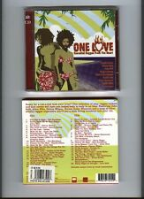 ONE LOVE 2 DISC CD SET ESSENTIAL  REGGAE FROM HEART 2003 EXC