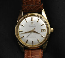 Omega Seamaster vintage  18k gold automatic 35mm mint perfect in box
