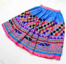 Rabari Kuchi Ethnic Banjara Tribal Embroidery Gypsy Boho India Belly Dance Skirt