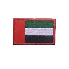 THE UNITED ARAB EMIRATES FLAG UAE FLAG AE MORALE BADGE EMBRODIERY HOOK PATCH /01