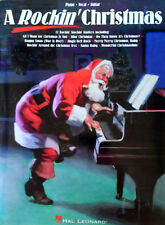 A ROCKIN' CHRISTMAS - 80 PAGE SONGBOOK - PIANO / VOCAL / GUITAR - 1997