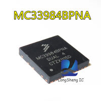 1PCS MC33984BPNA Encapsulation:QFN,Dual Intelligent High-Current Self new
