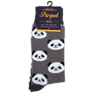 CUTE PANDA FACES ALL OVER STYLE PAIR OF NOVELTY SOCKS