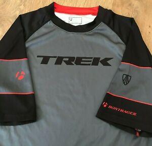 TREK Bontrager cycling Rhythm Tech t-shirt jersey size S