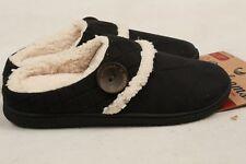 Dearfoams Women's Quilted Microsuede Clog Slipper Memory Foam L 9 – 10 US Black