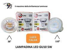 LAMPADINA FARETTO LED GU10  5W CENTURY LUCE CRI 95 LAMPADA  SPOT BULBO FARO