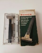 Schick Injector System H47 With Cartridge,Razor,Vintage Shavers (Gd)