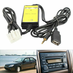 Car USB Aux-In Adapter MP3 Player Cable Radio Audio Interface for Toyota Corolla