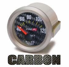 Wassertemperatur Anzeige Zusatz Instrument 52mm Carbon