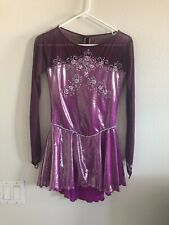 New listing Figure Skating Competition Dress Sparkly Girls Sz Xl(13-15 Yo) Or Aduld Xs