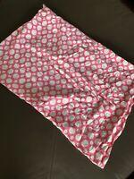PB Teen Pink White Polka Dots Standard Pillow Sham