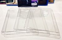 5 Box Protectors For Blu-Ray / HD DVD Clear Custom Made Cases / Sleeves Bluray