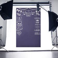 Allenjoy Custom Blackboard Photography Backdrop Wedding Party Photo Background