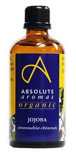 Absolute Aromas Organique Huile de jojoba 100ml - Huile de base