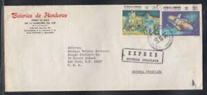 HONDURAS Express Cover Tegucigalpa to New York City 16-6-1971 Cancel