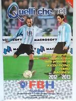 Quelliche.net almanacco album foto squadre calcio ascoli fermo macerata nuovo 88