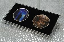 More details for jack the ripper & great fire of london commemoratives in 50p coin display case