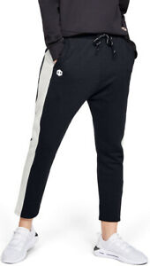 Under Armour Recover Womens Fleece Pants - Black