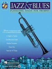 Jazz & Blues: Play-Along Solos for Trumpet Book & Online Audio, , , Good, 1999-0