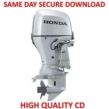Honda BF40A BF50A Outboard Motor Service Repair Manual Manual 40 50 HP