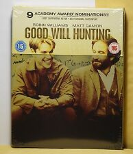 New Good Will Hunting Blu-Ray Steelbook! Uk Version+Region B! Factory Sealed