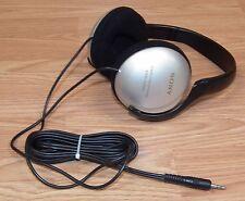 Genuine Sony (MDR-CD180) Black & Grey Stereo Headphones w/ 3.5 mm Jack **READ**