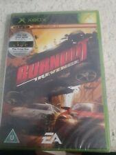 BURNOUT REVENGE  XBOX PAL _ UK ENGLISH _ NEW FACTORY SEAL BRILLIANT