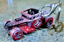 2020 HOT WHEELS BONE SHAKER CUSTOM GHOSTBUSTERS DIECAST 1:64 CARS KEYCHAIN TOYS