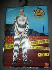 SMIFFYS Cops N Robbers CONVICT Costume Size XL NEW in PACK