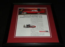 1988 Volkswagen VW GTI 16V Framed 11x14 ORIGINAL Advertisement