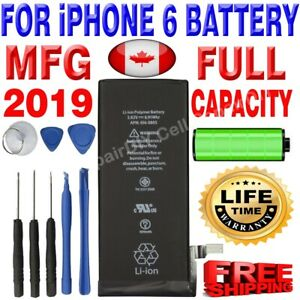 Brand NEW OEM Replacement iPhone 6 Battery 1810 mAh with Free Tools