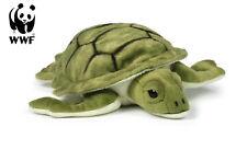WWF Plüschtier Meeresschildkröte (23cm) lebensecht Kuscheltier Stofftier Turtle