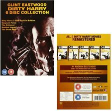 DIRTY HARRY 1 - 5  (1971-1988):  DVD - 5 Movie COLLECTION - Clint Eastwood - NEW