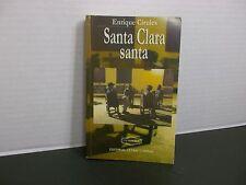 Santa Clara santa Enrique Circules Firmado por el autor