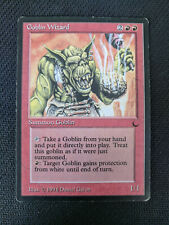 Goblin Wizard - The Dark - MtG single - LP