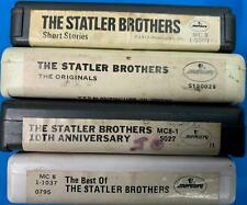 THE STATLER BROTHERS **COLLECTION** (4) Assorted 8 Track Tapes