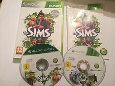 2x XBOX 360 GAMES THE SIMS 3 III BASE GAME +BOX INSTRUCTIONS COMPLETE + PETS PAL