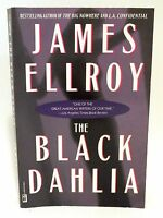 "RARE James Ellroy SIGNED Book ""The Black Dahlia"" Bestselling Author - (PB)"