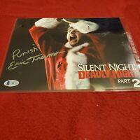Silent Night Deadly Night Part 2 Eric Freeman Signed 8x10 Autograph Beckett COA